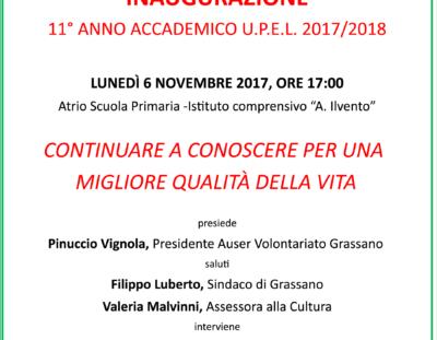 Inaugurazione anno accademico 2017-2018