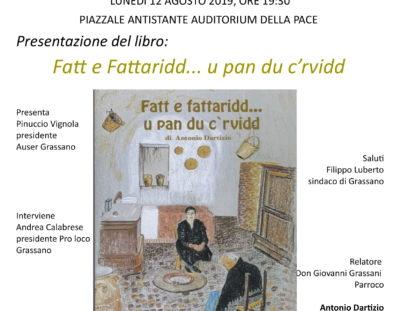 Presentazione del libro: Fatt e Fattaridd… u pan du c'rvidd