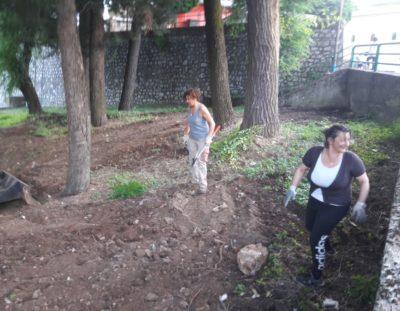 Tramutola. Riqualificazione spazio verde nel centro storico del Comune