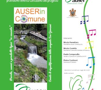 Evento conclusivo del progetto Auser in comune