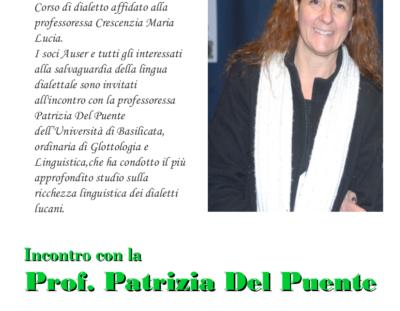 Incontro con la professoressa Patrizia Del Puente
