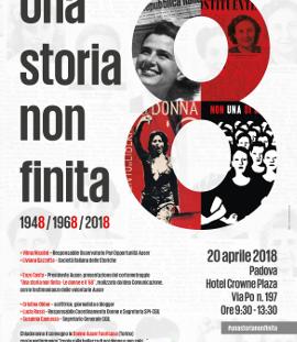 """""""Una storia non finita: 1948 – 1968 – 2018"""""""