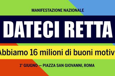 Auser aderisce alla manifestazione unitaria dei pensionati il 1 giugno a Roma in piazza San Giovanni