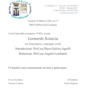 Leonardo Sciascia tra letteratura e impegno civile
