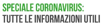 Speciale coronavirus